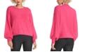 RACHEL Rachel Roy Fuzzy Cropped Sweater