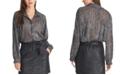 RACHEL Rachel Roy Ben Metallic Textured Top