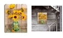 Trendy Decor 4U Trendy Decor 4U Country Sunflowers by Anthony Smith, Printed Wall Art Collection