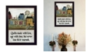 """Trendy Decor 4U Quilts Made With Love By Pat Frisher, Printed Wall Art, Ready to hang, Black Frame, 10"""" x 14"""""""