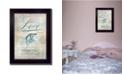 "Trendy Decor 4U Single Soul I By Mollie B., Printed Wall Art, Ready to hang, Black Frame, 20"" x 14"""