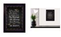 "Trendy Decor 4U Trendy Decor 4U Be Yourself By Trendy Decor4U, Printed Wall Art, Ready to hang, Black Frame, 14"" x 10"""