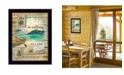 "Trendy Decor 4U The Lake is Calling By Marla Rae, Printed Wall Art, Ready to hang, Black Frame, 14"" x 18"""