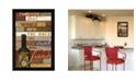 "Trendy Decor 4U The Best Wine By Marla Rae, Printed Wall Art, Ready to hang, Black Frame, 14"" x 20"""