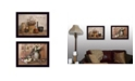 """Trendy Decor 4U Simple Blessings Collection By Billy Jacobs, Printed Wall Art, Ready to hang, Black Frame, 36"""" x 14"""""""