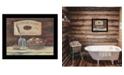"Trendy Decor 4U HANDMADE SOAPS-by Pam Britton, Ready to hang Framed Print, Black Frame, 17"" x 14"""