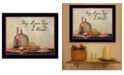 """Trendy Decor 4U May all Your Days Be Blessed By SUSAn Boyer, Printed Wall Art, Ready to hang, Black Frame, 18"""" x 14"""""""