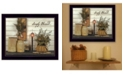 """Trendy Decor 4U Simply Blessed By SUSAn Boyer, Printed Wall Art, Ready to hang, Black Frame, 26"""" x 20"""""""