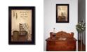 "Trendy Decor 4U Trendy Decor 4U These Three Remain By SUSAn Boyer, Printed Wall Art, Ready to hang, Black Frame, 14"" x 20"""
