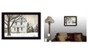 """Trendy Decor 4U Winter Porch By Billy Jacobs, Printed Wall Art, Ready to hang, Black Frame, 18"""" x 14"""""""