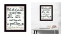 """Trendy Decor 4U Great Love by Annie LaPoint, Ready to hang Framed Print, Black Frame, 14"""" x 18"""""""