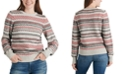 Lucky Brand Striped Fair Isle Sweater