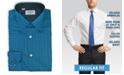 DUCHAMP LONDON Solid Tonal Dot Dress Shirt