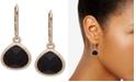 Anne Klein Gold-Tone Stone Drop Earrings