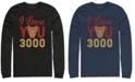 Marvel Men's Avengers Endgame I Love You 300 Arc Reactor, Long Sleeve T-shirt