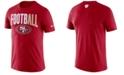 Nike Men's San Francisco 49ers Dri-FIT Cotton Football All T-Shirt
