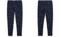 Polo Ralph Lauren Big Girls Star-Print Stretch Cotton Jersey Legging