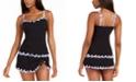 Profile by Gottex Tricolore Underwire Tankini Top & Tricolore Ruffled Swim Skirt, Created For Macy's