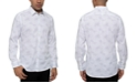 Kenneth Cole Reaction Kenneth Cole Men's Performance Stretch Galaxy-Print Shirt