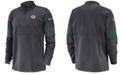 Nike Men's Green Bay Packers Sideline Therma-Fit Half-Zip Top
