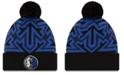 New Era Dallas Mavericks Big Flake Pom Knit Hat