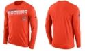 Nike Men's Cleveland Browns Sideline Legend Line of Scrimmage Long Sleeve T-Shirt