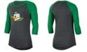 Nike Women's Oregon Ducks Logo Raglan T-Shirt