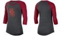 Nike Women's USC Trojans Logo Raglan T-Shirt