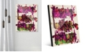 "Creative Gallery Engine Block Magenta Abstract 24"" x 36"" Acrylic Wall Art Print"