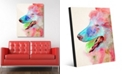 """Creative Gallery Scout in Red Dog Abstract 24"""" x 36"""" Acrylic Wall Art Print"""