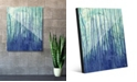 """Creative Gallery Running Up in Blue Abstract 16"""" x 20"""" Acrylic Wall Art Print"""
