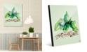 "Creative Gallery Watercolor Mint on Green 16"" x 20"" Acrylic Wall Art Print"