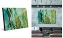 Creative Gallery Kunja on Mint Abstract Acrylic Wall Art Print Collection