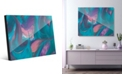 Creative Gallery Tumba Part Two in Cyan Pink Abstract Acrylic Wall Art Print Collection