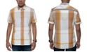 Sean John Men's Large Scale Plaid Shirt