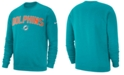 Nike Men's Miami Dolphins Fleece Club Crew Sweatshirt