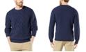 Dockers Men's Alpha Cable Sweatshirt, Created For Macy's