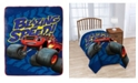 J Franco Nickelodeon Blaze Fast Track Fleece Blanket