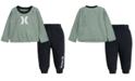 Hurley Baby Boys 2-Pc. T-Shirt & Jogger Pants Set