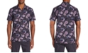 Tallia Men's Slim-Fit Performance Stretch Floral Camp Shirt