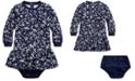 Polo Ralph Lauren Baby Girls Drop-Waist Dress