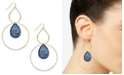 INC International Concepts INC Gold-Tone Resin Stone Drop Earrings, Created For Macy's