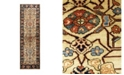 "Timeless Rug Designs One of a Kind OOAK1643 Cream 2'8"" x 7'10"" Runner Rug"