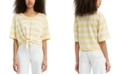 Levi's Fiona Cotton Striped Tie-Front T-Shirt