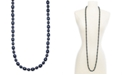 """Charter Club Gold-Tone Imitation Pearl Strand Necklace, 60"""" + 2"""" extender, Created For Macy's"""
