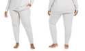 Calvin Klein CK One Plus Size French Terry Jogger Lounge Pants
