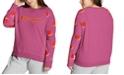 Champion Plus Size Contrast-Sleeve Sweatshirt