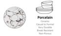 Noritake Raptures Platinum Saucer