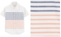 Carter's Toddler Boys Striped Cotton Shirt