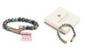 Wishbeads Matte African Turquoise Wish Bracelet